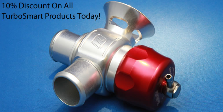 10% Discount On All Turbosmart Products Today!